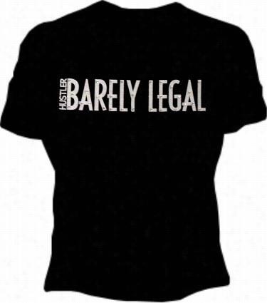 Husstler Barely Legal Shimmer T-shirt