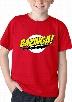 Bazinga kid's T Shirt Big Bang Theory