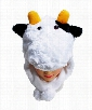 Furry Animal Hats (Cow)