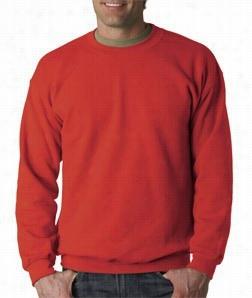 Crew Neck Sweatshirts For Men &ammp; Women - Crewneck Sweatshirt (paprika Red )