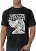 """Tribal Gear """"Flaks Angel"""" Men's T-Shirt (Black)"""