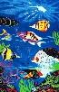 Tropical Fish Beach & Bath Towel