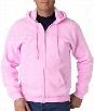 Zip Up Hooded Sweatshirt :: Premium Hoodie With Zipper (Light Pink)
