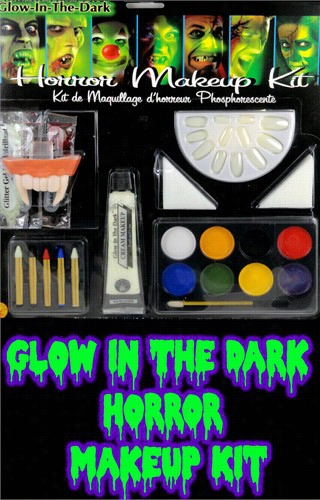 Glow In The Dark Horror Makeup Kit