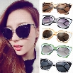Women Fashion Retro Sunglasses Multicolor Metal Plastic Frame Elegant Sunglasses Glasses