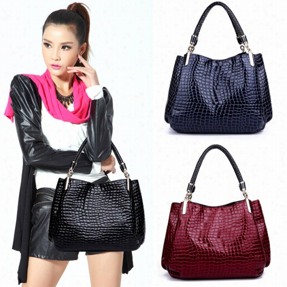 New Fashion Women's Ladies Leather Handbag Bag Tote Shoulder Bag
