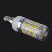 "E14 69 SMD5050 LED Corn Light Warm White Bulb Lamp 220V-240V""6.8W"