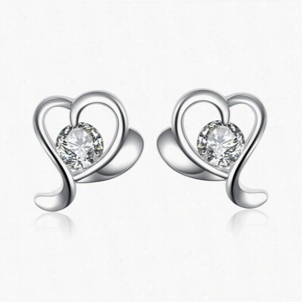 E013 Fashion New Tyle 925 Silver Plated Earrin9s Jewelry Free Shipping