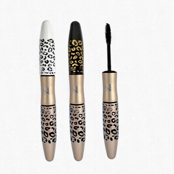 Leopard Waterproof Lengthening Extension Eyelash Eye Lah Tran Splanting Gel Fiber Mascara Amkeup