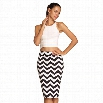 ACEVOG Stylish Ladies Women Casual Print Knee Length Sexy Pencil Skirt