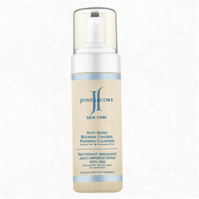 June J Acobs Anti-aging Blemish Control Foaming Cleanser