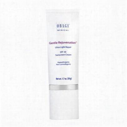 Obagi Gentle Rejuvenation Ulltra -light Repair Spf 30 Sunscreen Cream
