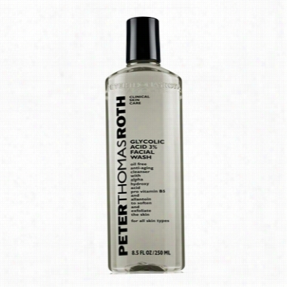 Peter Thomas Roth Glycolif Acid 3% Facial Wash