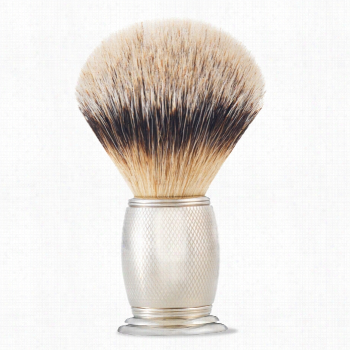 The Art Of Shaving Thicket Engraved Silvertip Shaving Brush