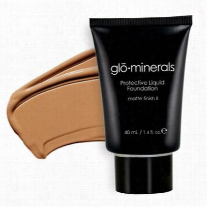 Glominerals Protective Liquid Foundation - Matte Ii