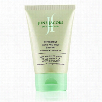 June Jacobs Peppermint Hand And Foot Therapy (lotion)