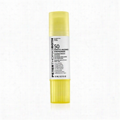 Peter Thomas Roth Anti-aging Defense Sunscreen Stick Broad Spectrum Spf 50