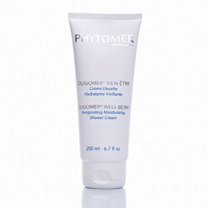 Phyttomer Oligomer Well-being Invirgorating Misturizing Shower Cream