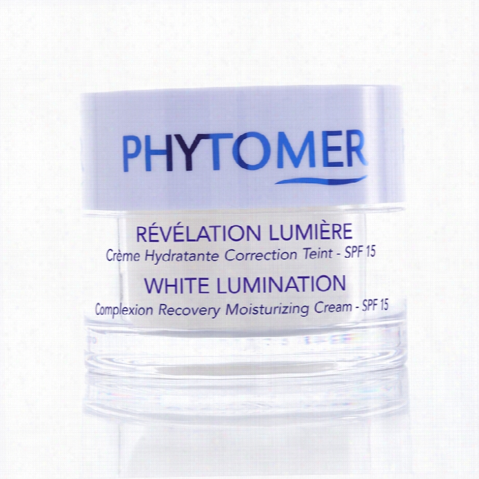 Phytomer White Lumination Color Recovery Moisturizing Cream Spf 15