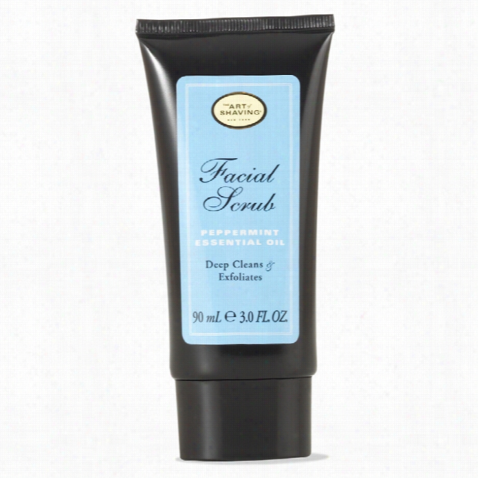 The Cunning Of Shaving Facial Scrub Peppermint