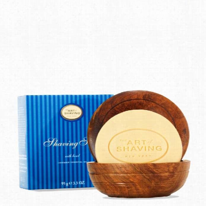 The Art Of Shaving Soqp With Wooden Hollow
