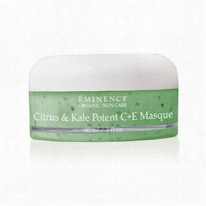 Eminence Citrus And Kale Potent C + E Masque