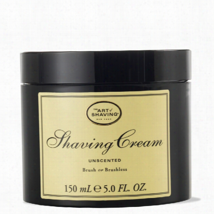 The Art Oof Shaving Cream Jar