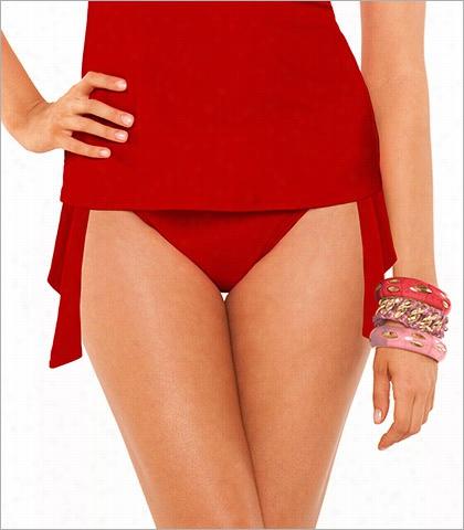 Aerin Rose Poppy Tis Side Swimsuit Bottom Style 404