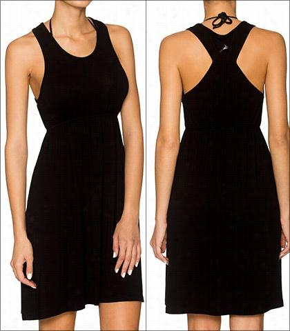 Lavish Black Racer Dress Swimwear Accesory Manner 812-blck