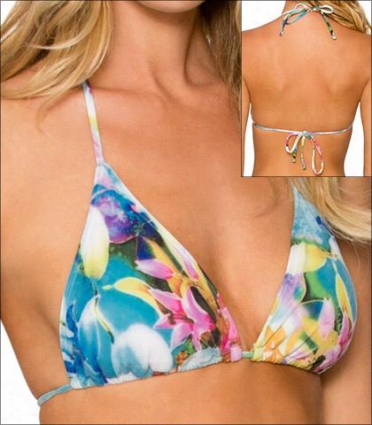 Sunsets Enchanted Garden Swimwear Top Bikini Style 16-ench-63t