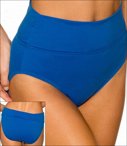 Swim Systems Maliblu Swimwear Bottom Fold Brief Style 16-mali-a240