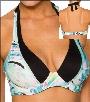 Swim Systems Northern Lights Swimwear Top Halter-Underwire Style 16-NOLI-A750