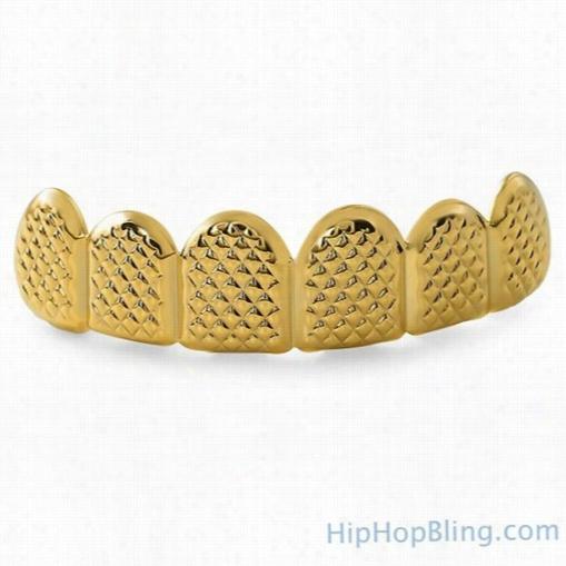 Gold Grillz Pyramids Custom Teeth