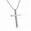 Clean Cross Stainless Steel Pendant