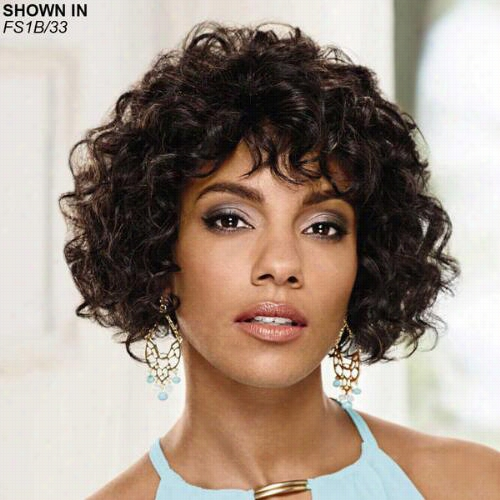 Rosaria Human Hair Wet 'n' Wavy Wig Along Especially Yours
