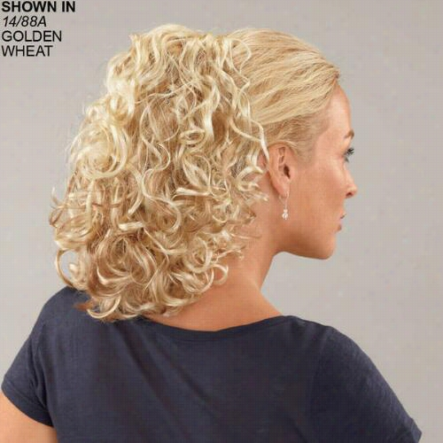 Curly Combs Stdwtch-a-comb Hair Piece Along Paula Young