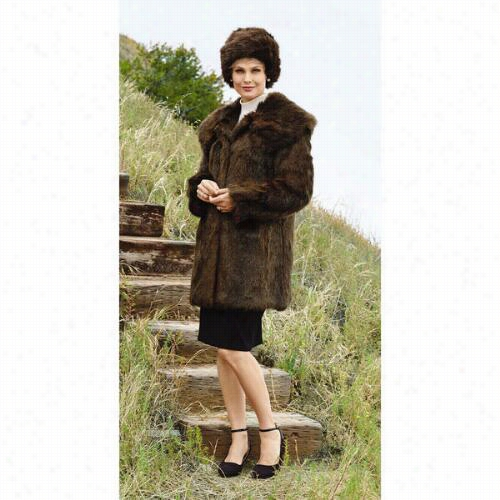 Py Think Mink 2 Jacket And Hat Set By Lisa Rene