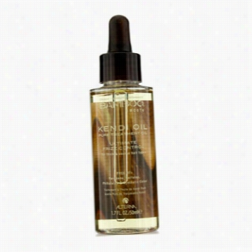 Bamboo Smooth Pure Kendi Treatment Oil (for Tihck & Coarse Hair)