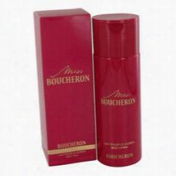 Miss Boucheron Body Lotion By Boucheron, 6.8 Oz Body Milk For Women
