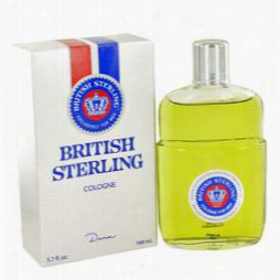 British Sterling Colognne By Dana, 5.7 Oz Cologne For Men
