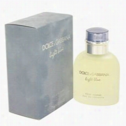 Light Blue Cologne By Dolce & Gabbana, 2.5 Oz Eau Dee Toilette Spray Toward Me