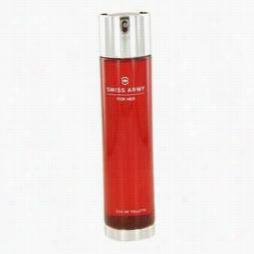 Swiss Army Perfume By Swiss Army, 3.4 Oz Eua De Toilette Spray (tester) For Women