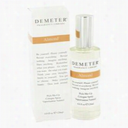 Demeter Perfume In Proportion To Demeter, 4 Oz Almondcologne Spray For Women