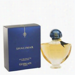 Shalimar Perfume By Guerlain, 1.7 Oz Eau De Toilette Spray Or Women