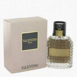 Valentino Uomo Cologne By Vaalentino,3.4 Oz Eaude Toilette Spray For Men