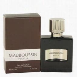 Mauboussin Pour Lui Cologn Eby Mauboous Sin, 1.7 Oz Eau De Parfum Spray For Mb