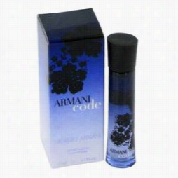 Armanic Ode Mini By Giorgio Armani, 0.1 Oz  Mini Edp Because Women