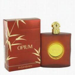 Opium Perf Ume By Yves Saint Laurent, 3 Oz Eu De Toilette Spray (new Packagi Ng) For Women
