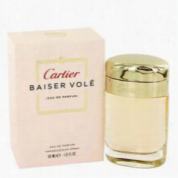 Baiser Vole Eprfume By Cartier, 1.7 Oz Eau De Parfum Spray For Wom En
