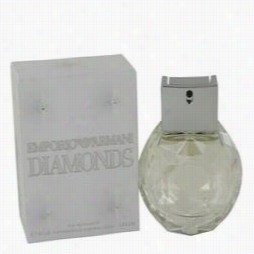 Emporio Armanii Diamonds Perufme By Giorgio Armani, 1 Oz Eau De Parfmu Spray For Women